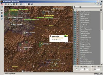 wow cartographe 1.10